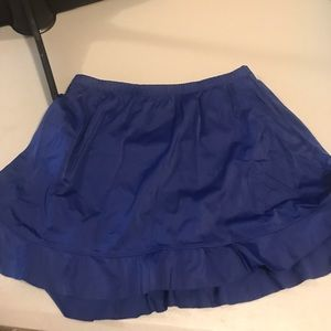 St. John's Bay swim skirt with built in bottom